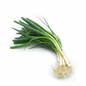 Spring Onions White (Organically Farmed) Bunch