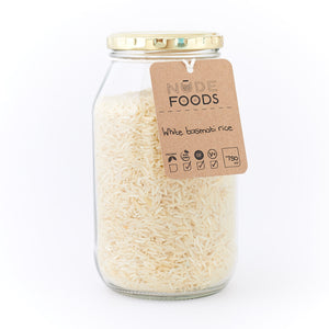 White Basmati Rice 750ml