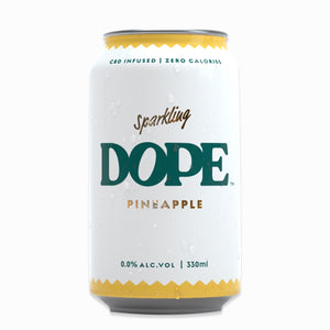 Pineapple CBD Infused Sparkling Drink Pack of 6