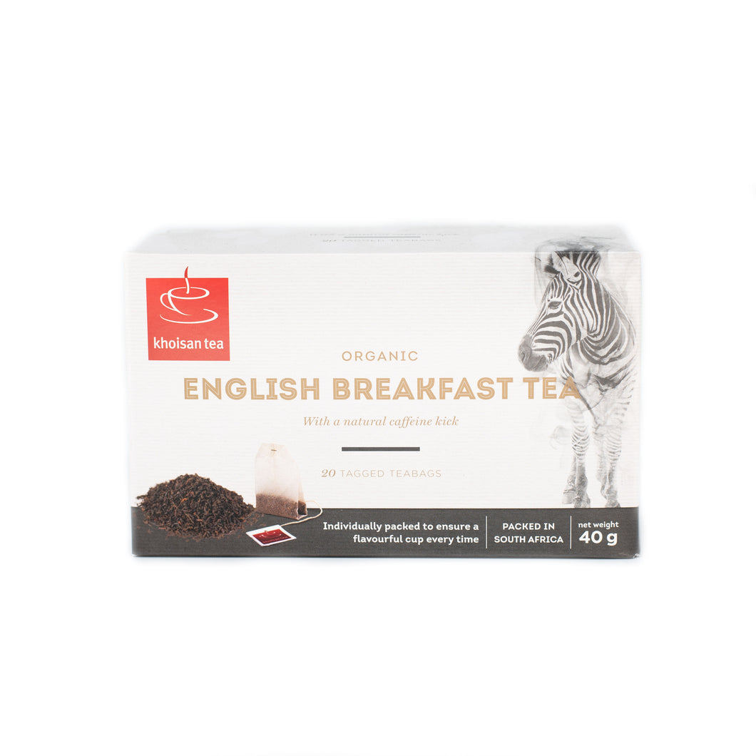 English Breakfast Pack of 20 Teabags