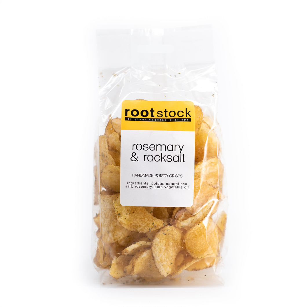 Rosemary & Rocksalt Potato Crisps 120g