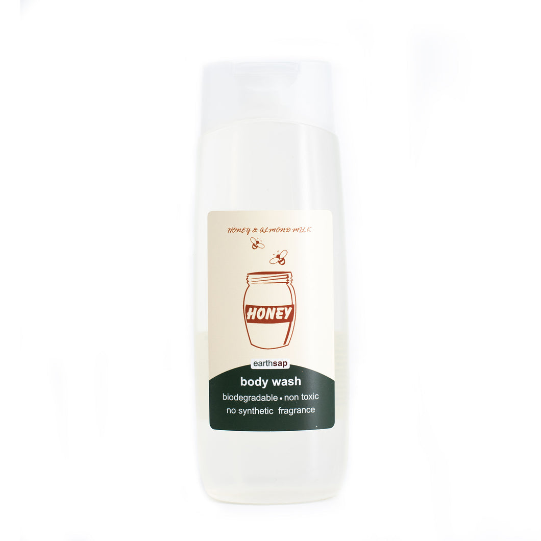 Body Wash Honey & Almond Milk 400ml