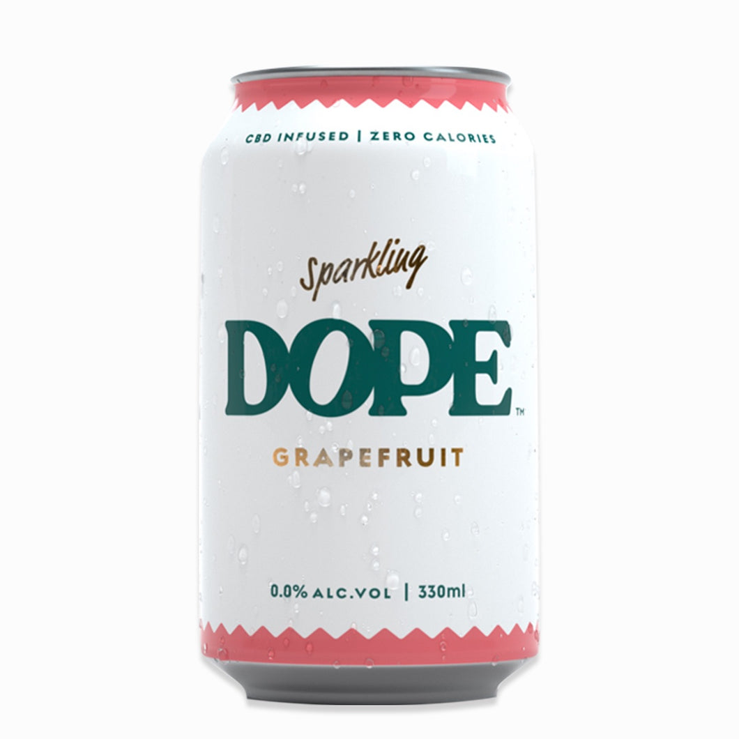 Grapefruit CBD Infused Sparkling Drink Pack of 6