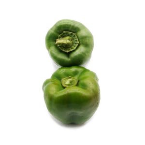 Green Bell Peppers (Organically Farmed) 500g