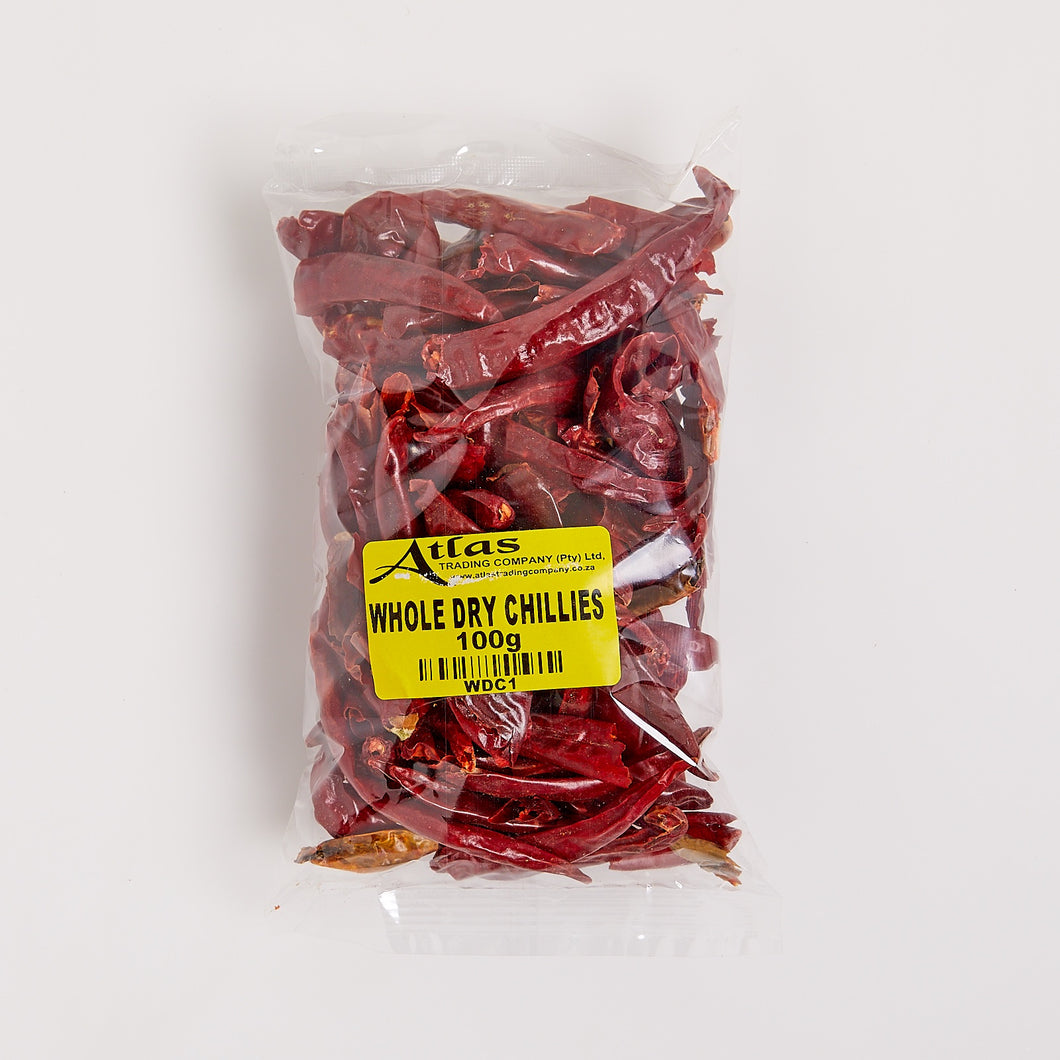 Chillies (Whole Dry) 100g
