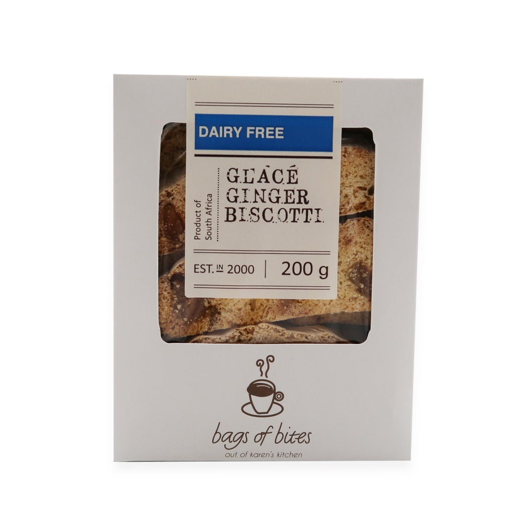 Glace Ginger Biscotti 200g