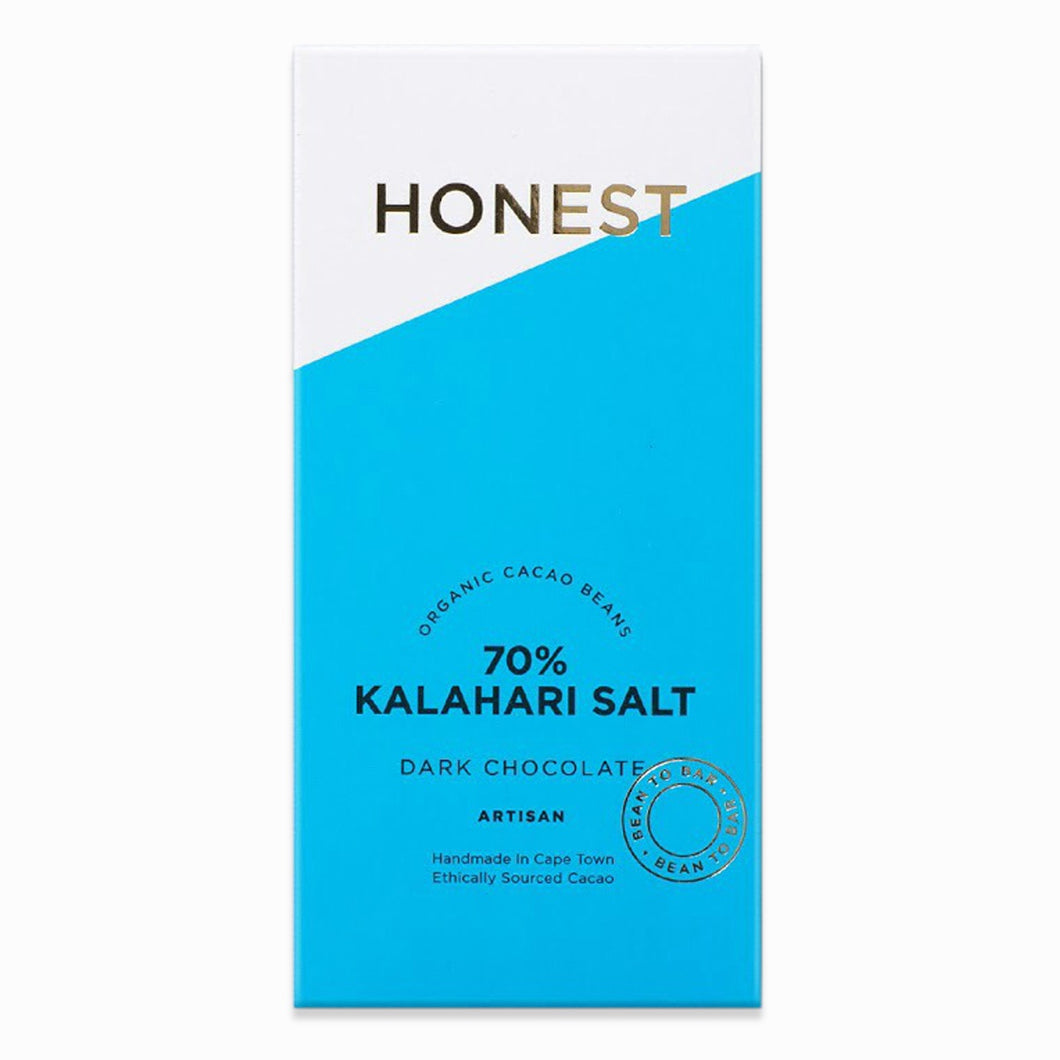 Chocolate with Kalahari Salt Chocolate 70% 60g