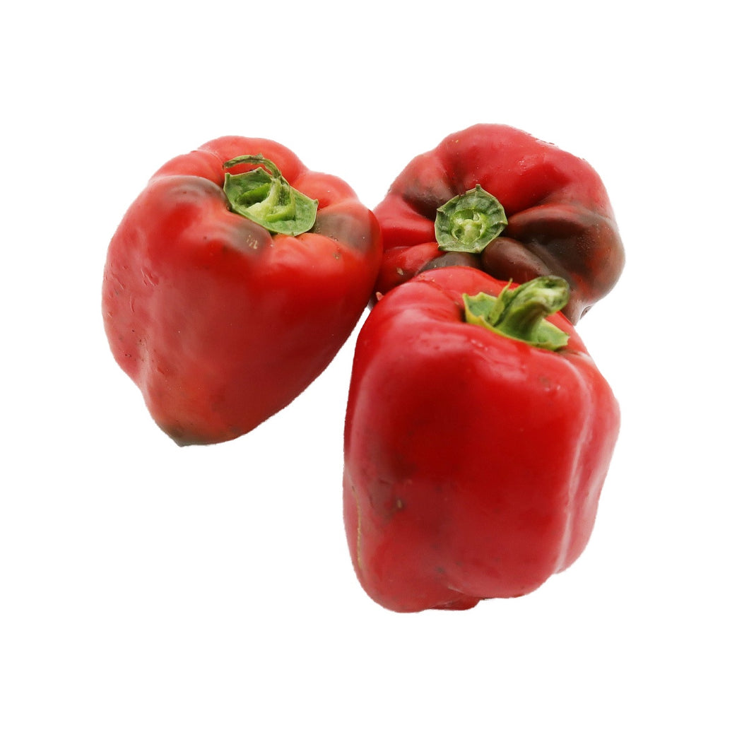 Red Peppers (Organically Farmed) 500g