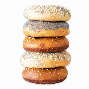 Bagels Pack of 5 (Freshly Frozen)
