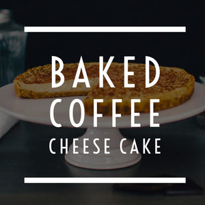 Baked Coffee Cheese Cake