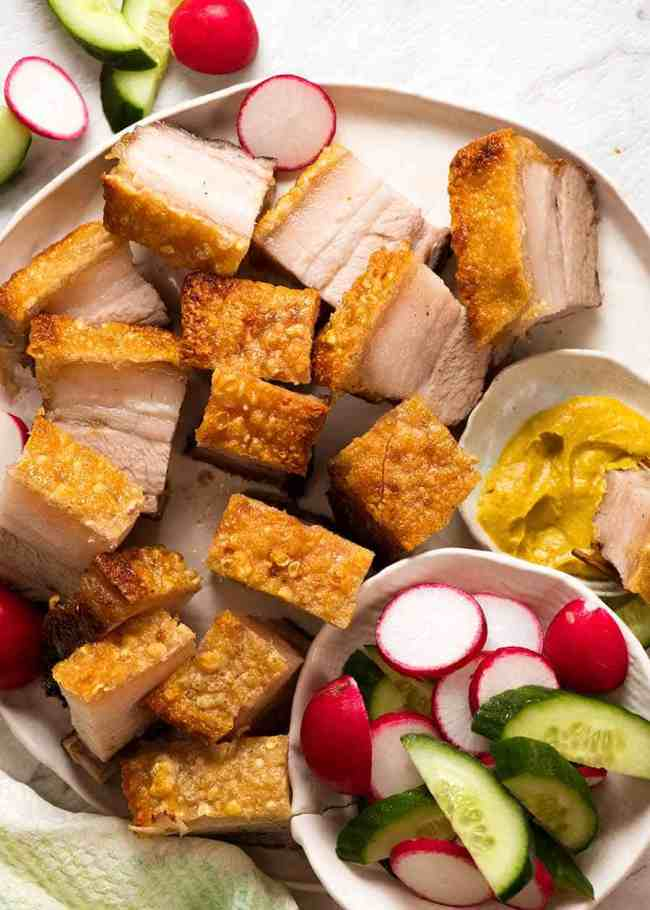 Chinese Crispy Pork Belly