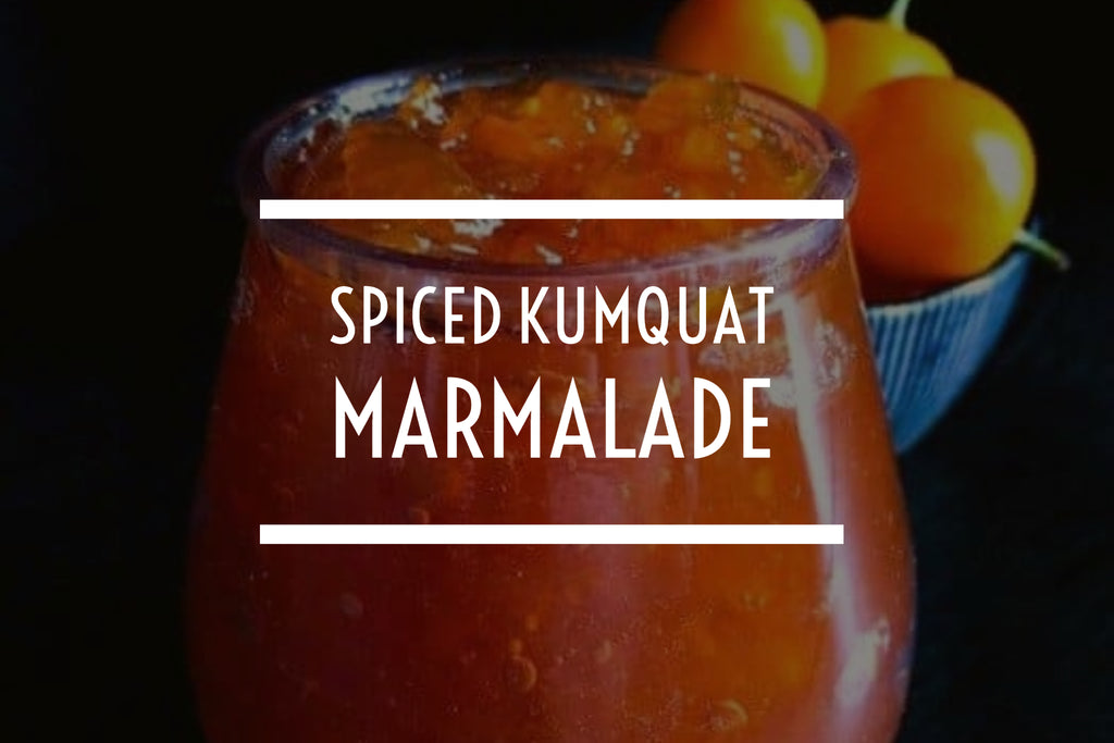 Spiced Kumquat Marmalade