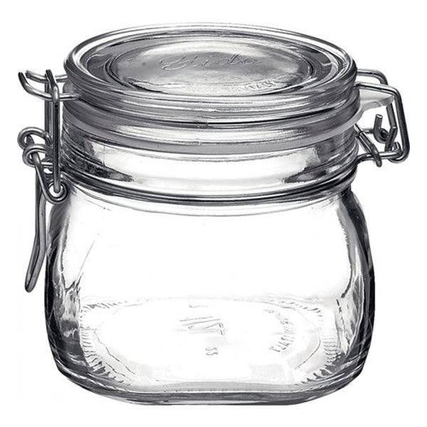 Bormioli Rocco Fido Glass Storage Jars