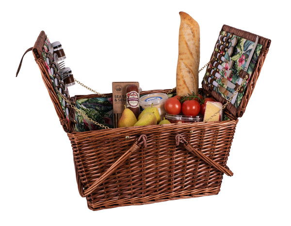 Avanti 4 Person Picnic Basket - Hibiscus