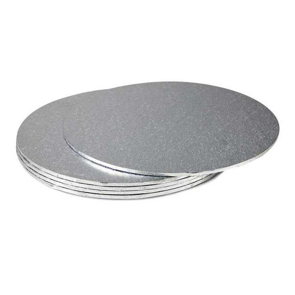 Mondo Cake Boards Round Silver - Various Sizes
