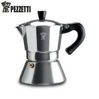 Pezzetti Bellexpress Stovetop Coffee Maker 6 Cup Induction