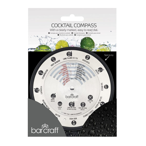 BarCraft Stainless Steel Cocktail Compass