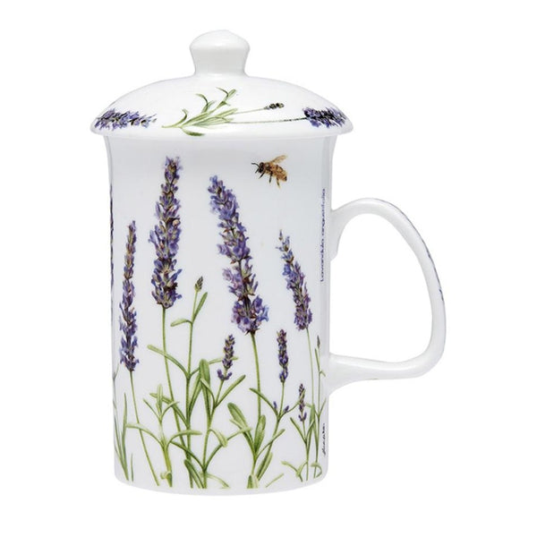 Ashdene Lavender Fields Mug With Infuser