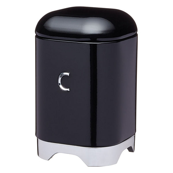 KitchenCraft Lovello Cannisters 11x18cm (1.5L) Black