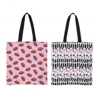 Bouffants & Broken Hearts Cotton Tote Bags