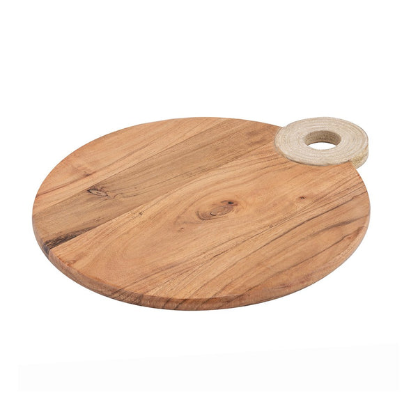 Davis & Waddell Mojave Acacia Serving Boards - Round 35cm