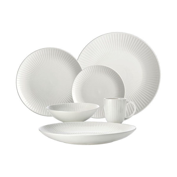 Maxwell & Williams Radiance Entertainer's Set 18 piece Dinnerset