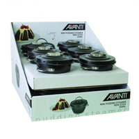 Avanti N/S Mini Pudding Steamers - 250ml