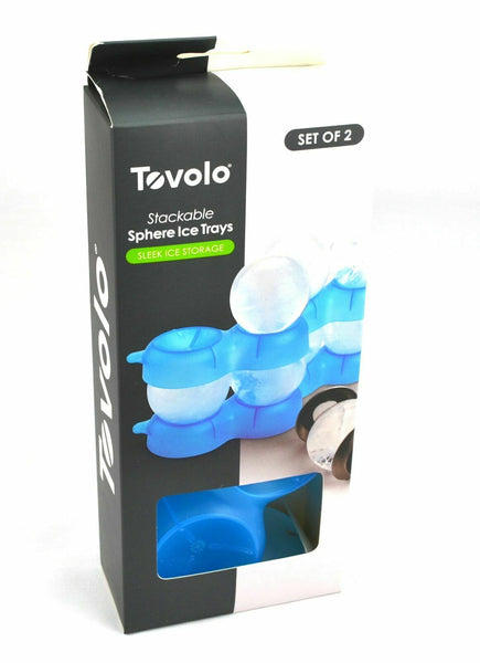 Tovolo Stackable Sphere Ice Strays Set of 2*