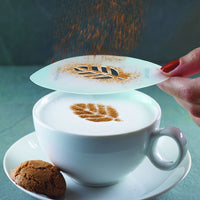 Aerolatte - Cappucino Art set of 6 Coffee Stencils