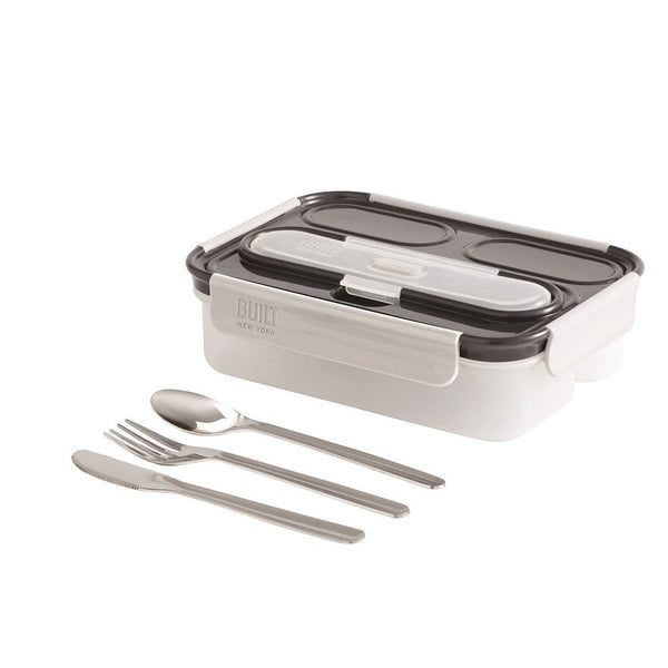 Built NY Gourmet 3 Compartment Bento Lunch Box