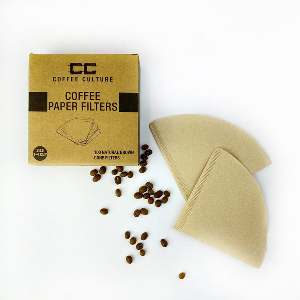 Coffee Culture - Coffee Paper Filters pack of 100
