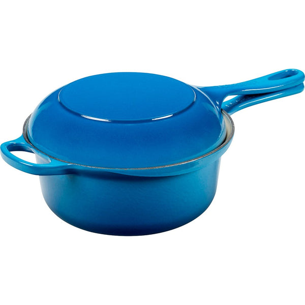 Le Creuset 2 in 1 Signature Saucepan with Lid 22cm
