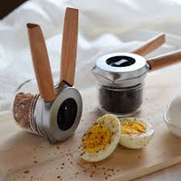 Dreamfarm Ortwo Set Spice & Pepper Grinder With Extra Jar