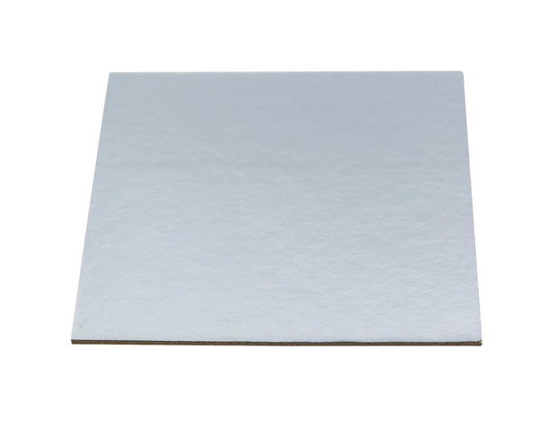 Mondo Cake Boards Square Silver - Various Sizes