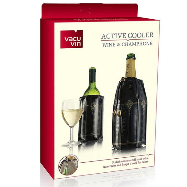 Vacuvin Active Coolers - Wine and Champagne Coolers Set