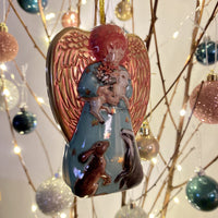 Angel Tin Bauble - Assorted Designs