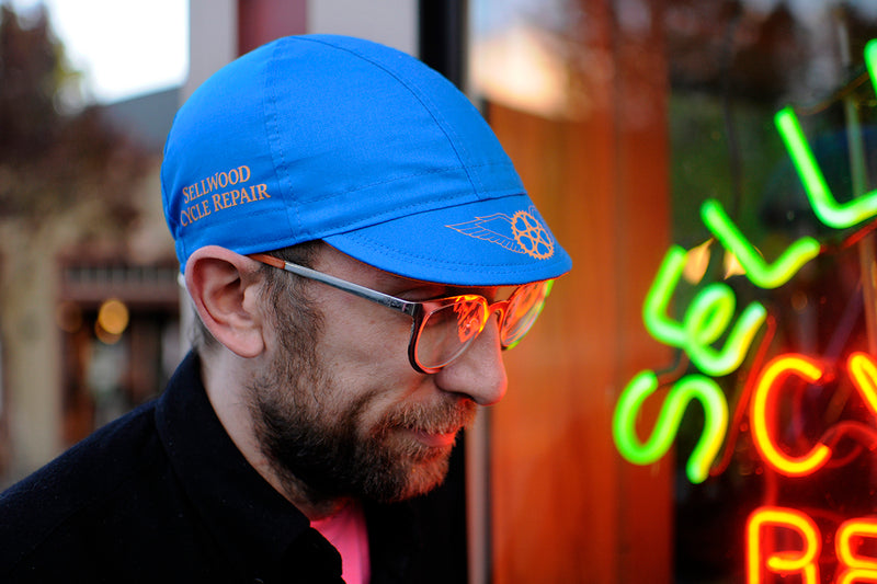 Handmade SCR Cycling Caps - By DoubleDarn