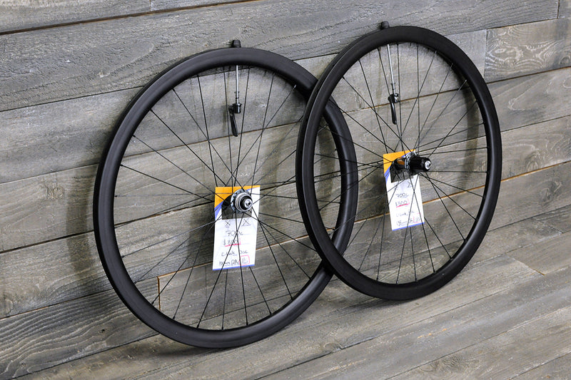 700c Carbon DIsc Tubular Wheelset