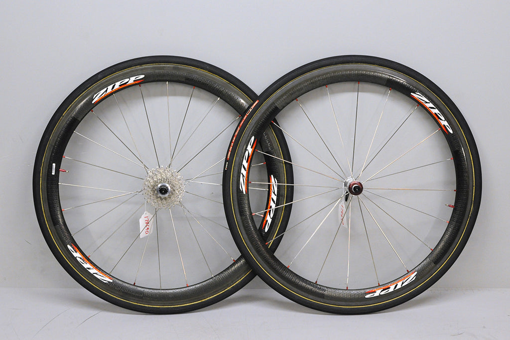 700c Zipp 404 carbon tubular wheelset