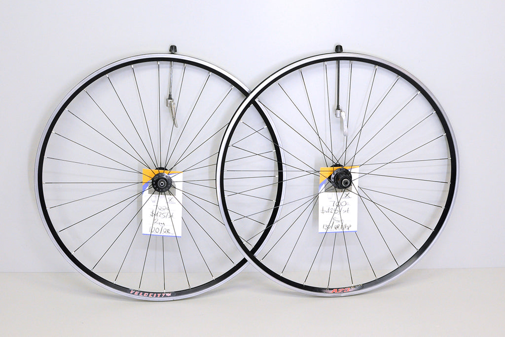700c DT Swiss / Velocity A23 tubeless road wheelset