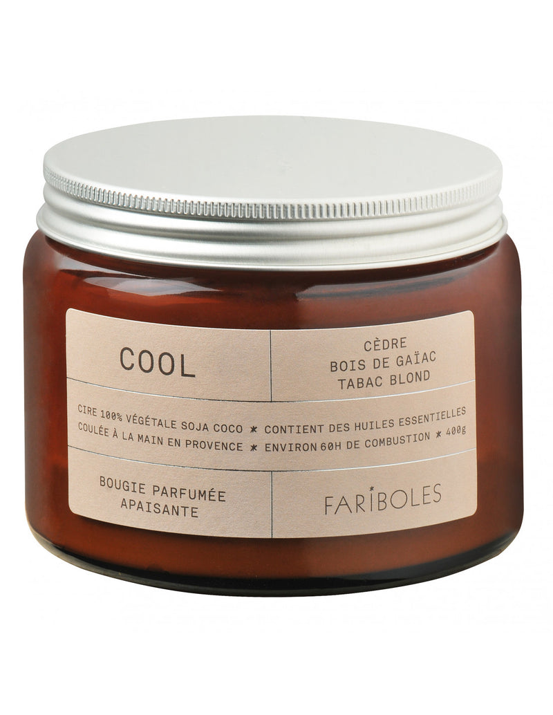 Bougie Cool 400 gr Fariboles