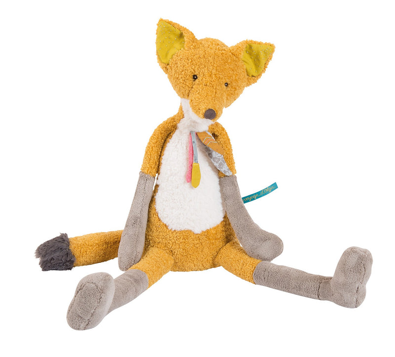 Grand renard Chaussette 56 cm Moulin Roty