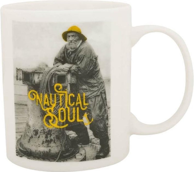 Mug Nautical soul jaune