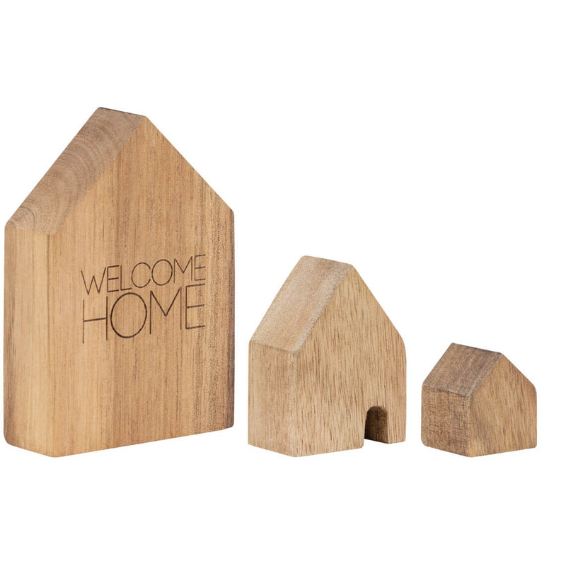 Welcome home, lot de 3 petites maisons