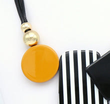 Load image into Gallery viewer, Monochrome Yellow Necklace