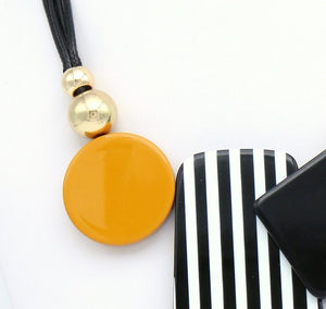 Monochrome Yellow Necklace