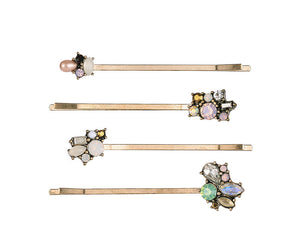 Gem Hairpin/Slides 4 pieces