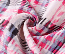 Load image into Gallery viewer, Pink check printed scarf