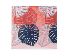 Load image into Gallery viewer, Red bright bananas leaf print