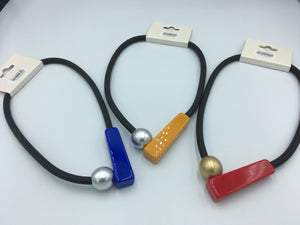 Pop Art Rubber Necklaces